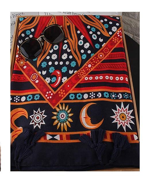 shanshan Bufanda de algodón y lino con protector solar, toalla de playa fina, vestido de noche largo de mujer 180x100cm, 10#: Amazon.es: Ropa y accesorios