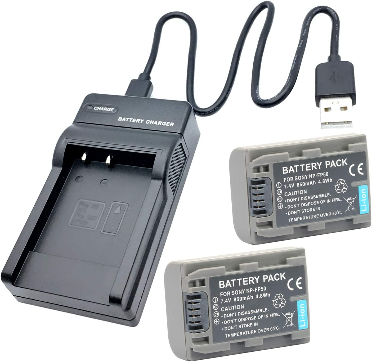DCR-HC17E DCR-HC18E DCR-HC16E DCR-HC19E Handycam Camcorder LCD USB Battery Charger for Sony HDR-HC3E