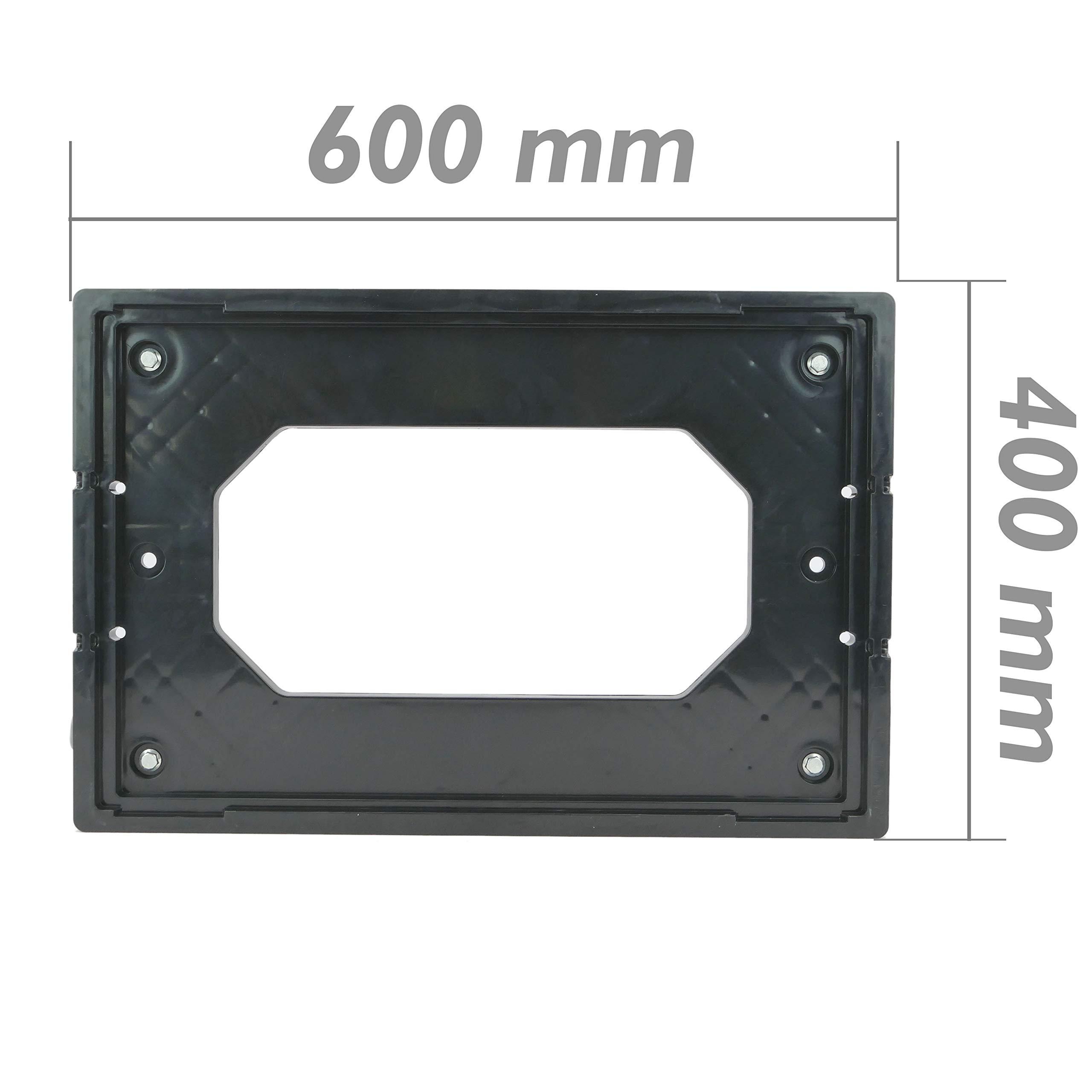 PrimeMatik - Platform with Wheels for Carrying Eurobox Boxes 60 x 40 cm (KA081) by PrimeMatik (Image #5)