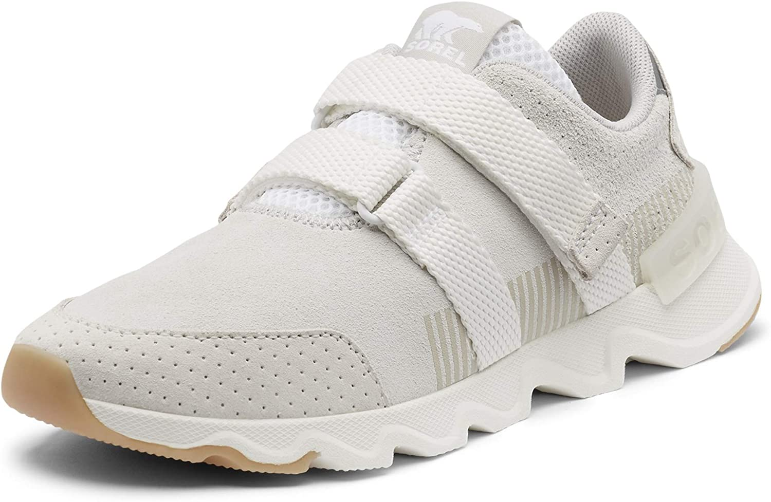 Suede or Mesh Sneaker with Scalloped Sole Women/'s Kinetic Lite Strap Sorel