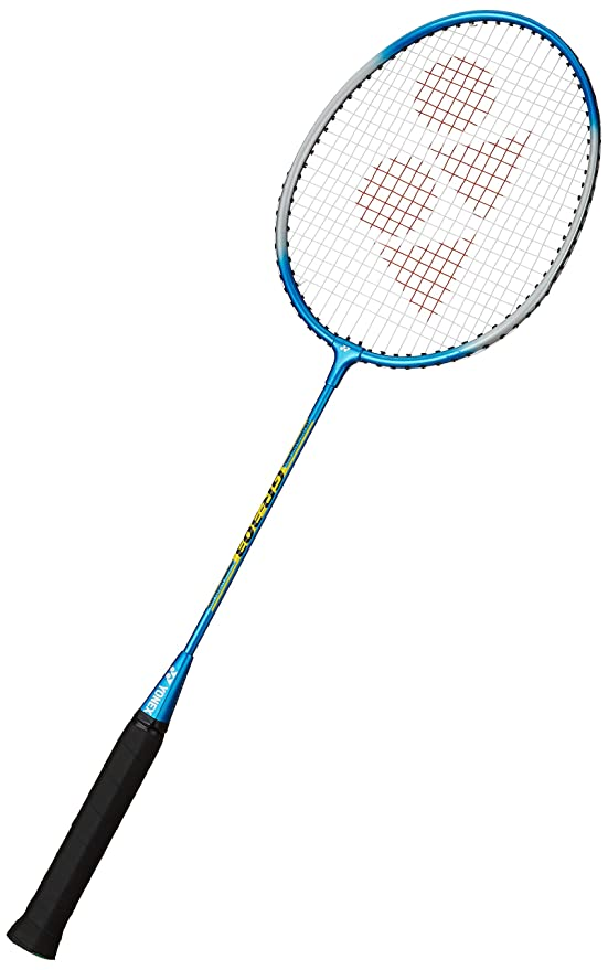YONEX GR 303 Strung Badminton Racquet  Half Cover  [G3 , 95 99.9 grams]