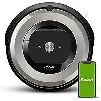 iRobot Roomba e5154 Wifi, Robot aspirador óptimo para mascotas, aspiración alta potencia, 2 cepillos goma, alfombras y…