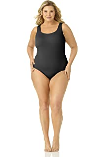 543e8527d4131 Catalina Women s Plus-Size Twist Front Bandeau Tankini Swimsuit at ...