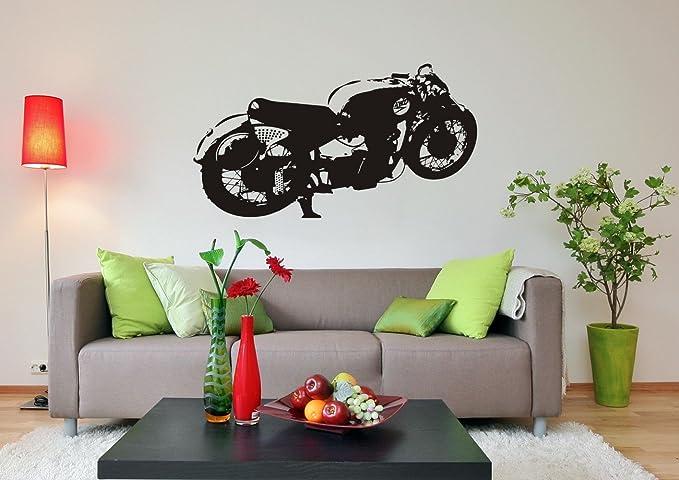 Dampfhammer ////Farb- und Größenwahl Wandtattoo: AWO RS DDR Motorrad Kult