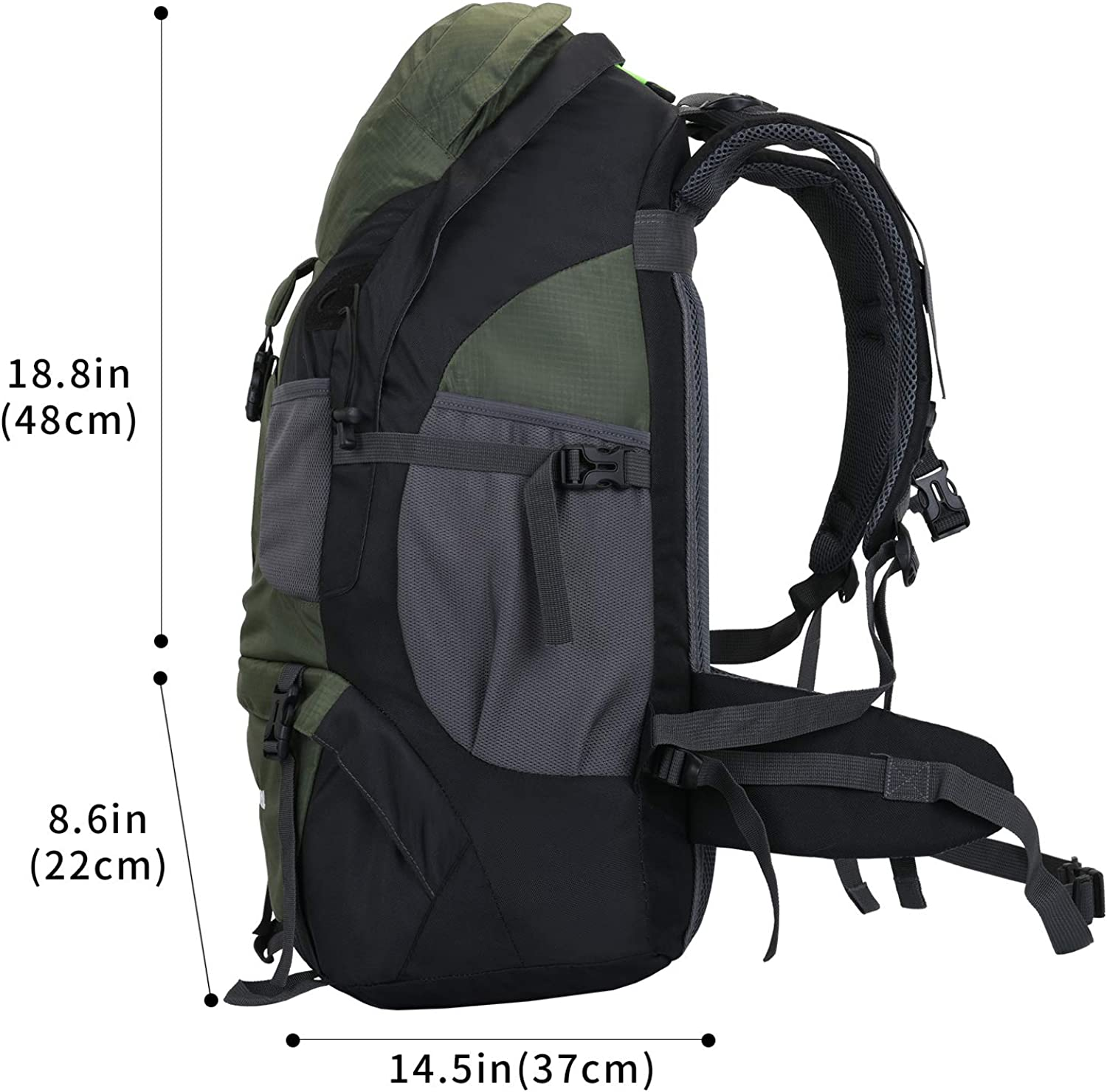 Hiking Backpack 50l Camping Lightweight Bag for Outdoor /…
