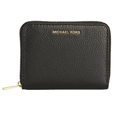 4376dc1c7b33 Michael Kors Small Wallet Liane 32S6GL3Z1L Black: Amazon.co.uk: Shoes & Bags
