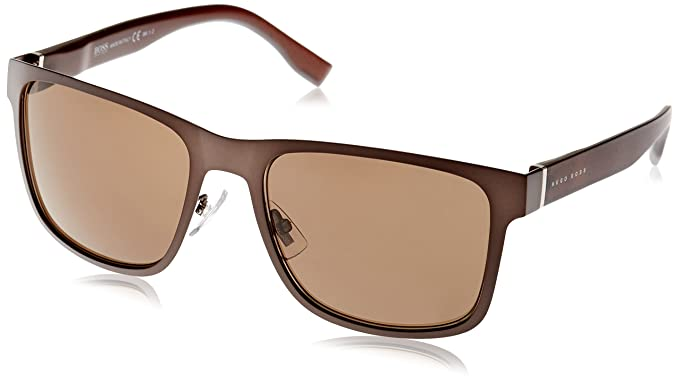 Hugo Boss Herren Sonnenbrille Boss 0748/F/S SP K9C, Braun (Brown-Grey Text/Bronze Pz), 58