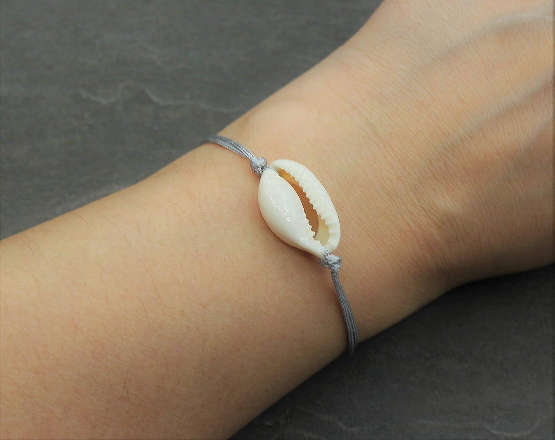 Kauri Muschel Armband Anhänger Kette Halskette Ring Bohemian Schmuck Geschenk