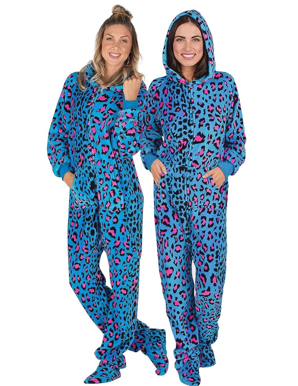 cfd8927bd2 Footed pajamas neon kitty adult hoodie chenille onesie clothing jpg  1159x1500 Harley davidson footed pajamas