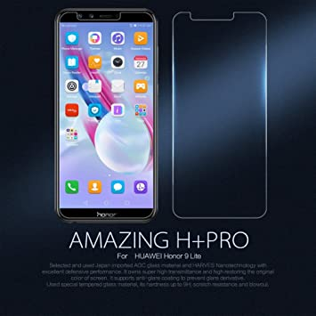 9e6fb3cf851 Nillkin Amazing H+ Pro - Protector de pantalla 9H con bordes curvos 2.5D  cristal templado de 0,2mm para Huawei Honor 9 Lite: Amazon.es: Electrónica