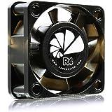 AAB Cooling Super Silent R4 - silenzioso ed efficiente 40mm Ventola di raffreddamento con 4 Anti Vibrazioni Pads