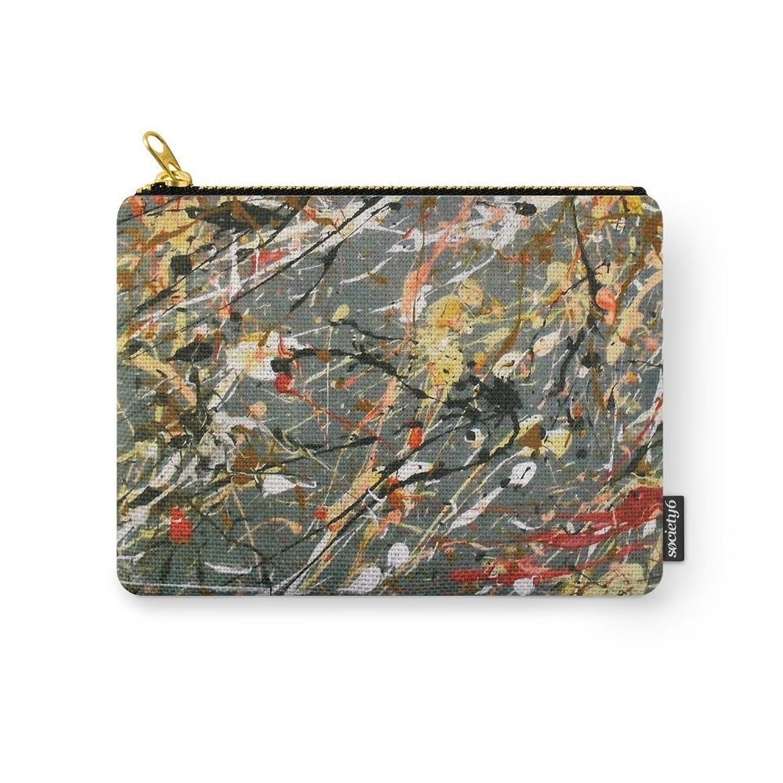 Society6 Jackson Pollock Interpretation Acrylics On Canvas
