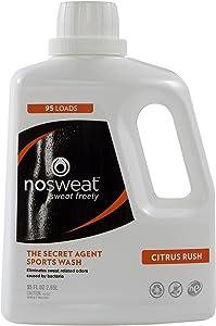 Laundry Detergent HE Sport by No Sweat, 95 Fl oz