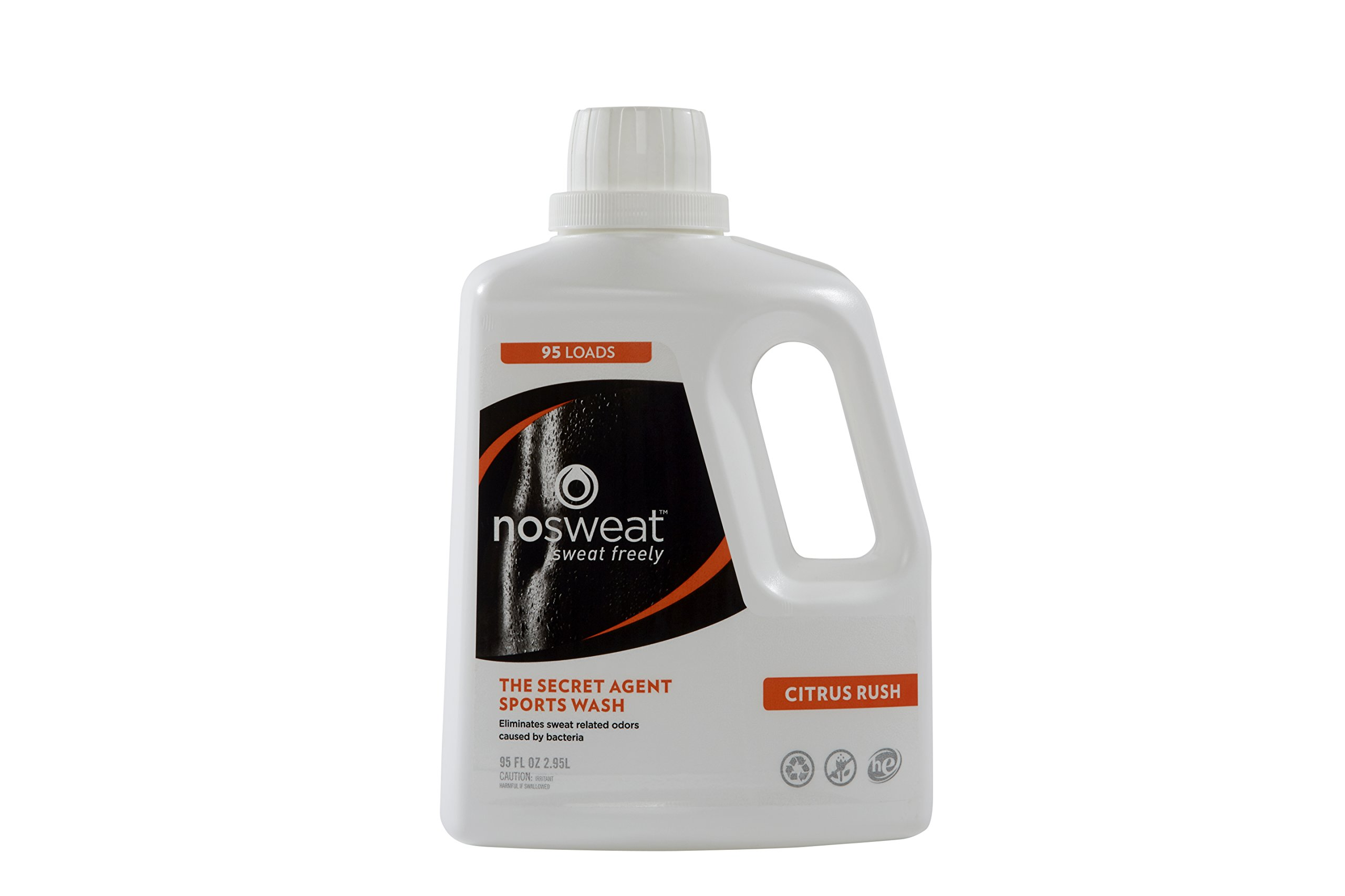 Laundry Detergent HE Sport by No Sweat, 95 Fl oz by No Sweat