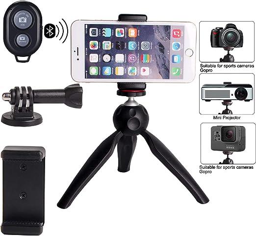 Regetek - Soporte de trípode para cámara de fotos con mando a ...