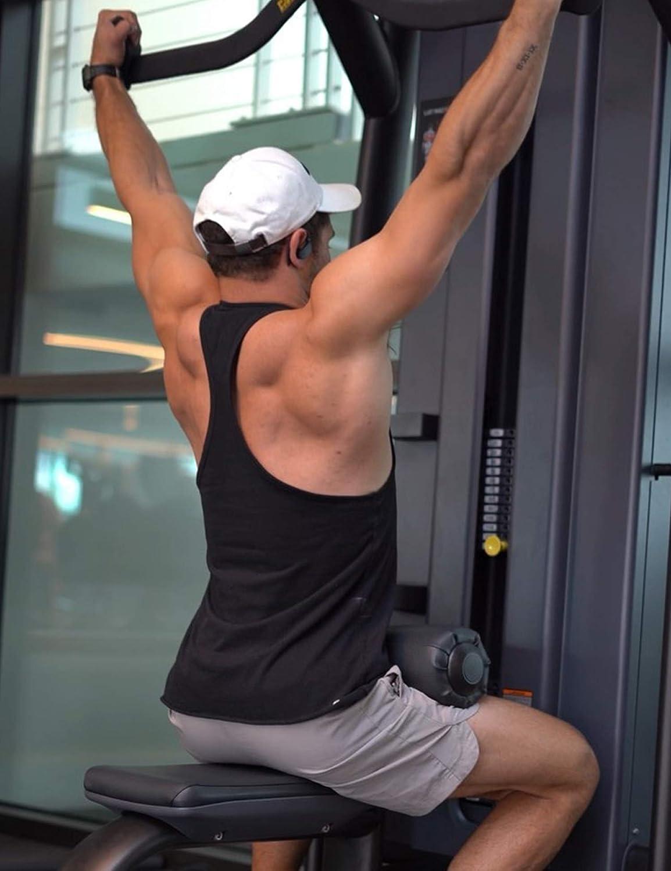 Confezione da 3 Canottiere da Palestra Bodybuilding Coofandy Fitness per Allenamento Muscolare