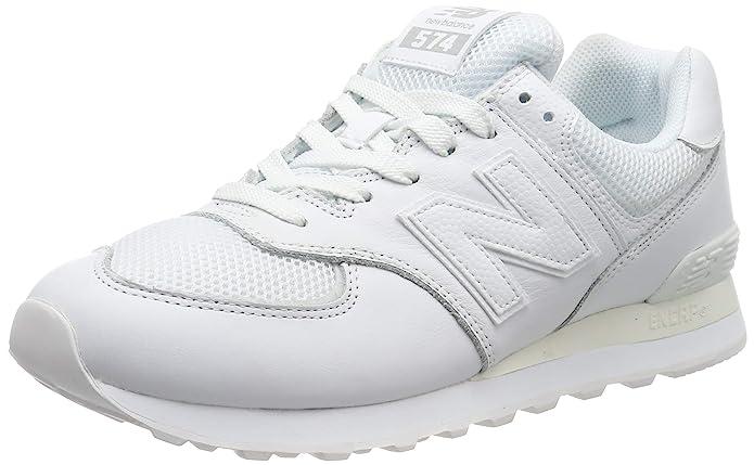 New Balance 574v2 Sneakers Herren Weiß (Weiße Sohle)