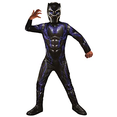 Rubie's Marvel Avengers: Endgame Child's Black Panther Battle Costume & Mask, Small: Toys & Games