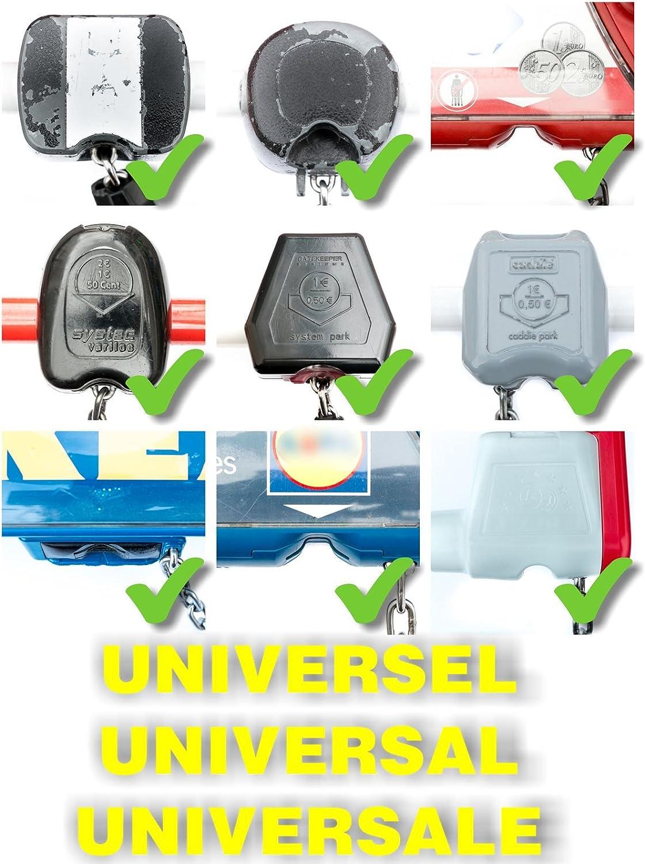 Altoclé: Llave Universal para carrito de supermercado, sin monedas ni fichas. Funciona en todos los lugares
