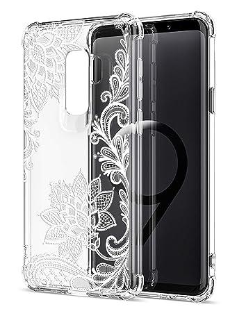 Amazon.com: Funda para Samsung Galaxy S9 con diseño floral ...