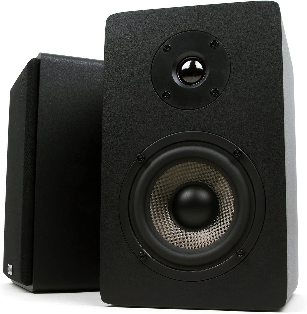 Micca MB42X Bookshelf Speakers 10 cm 1 par negro