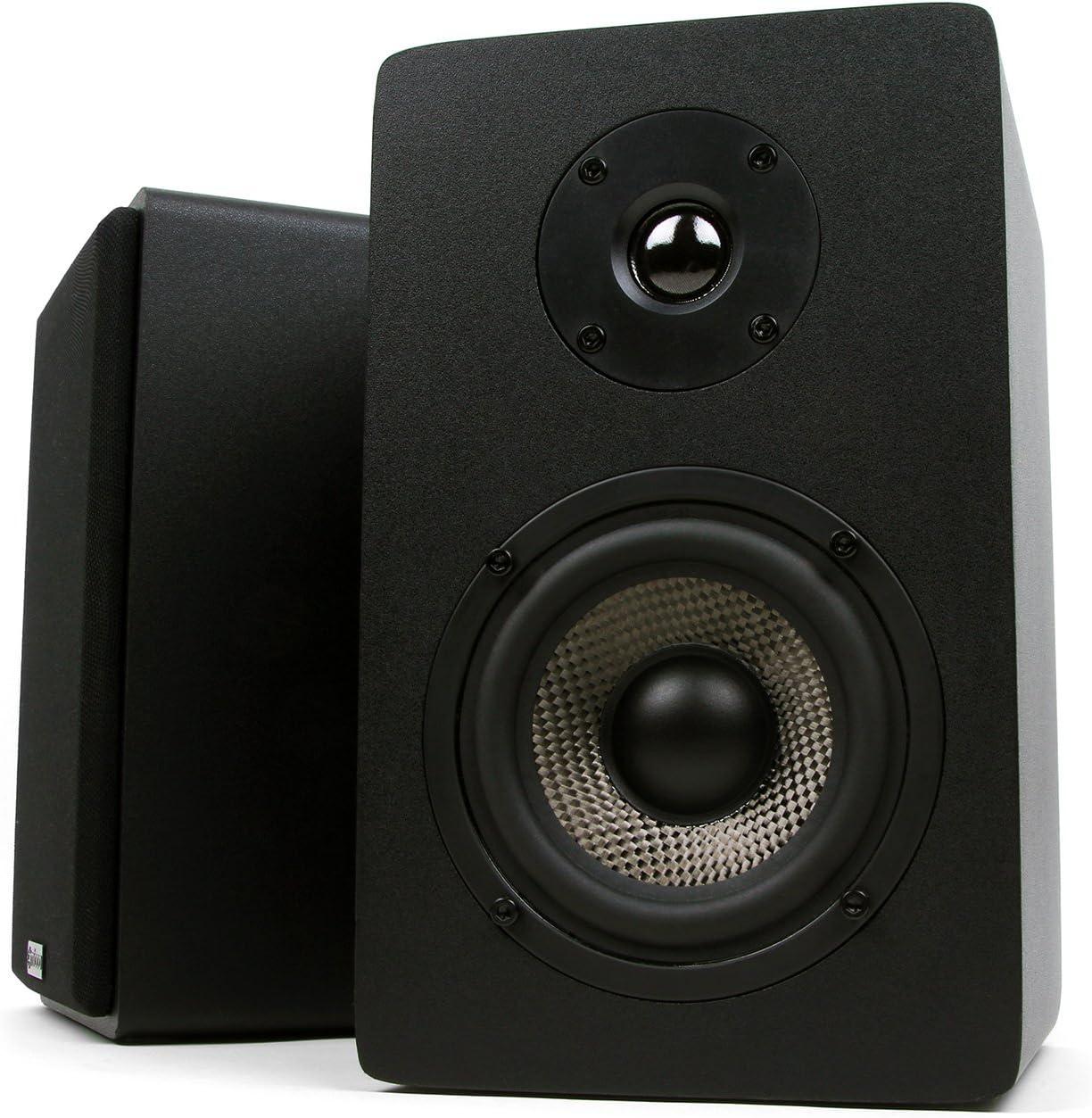 1. Micca MB42X Bookshelf Speakers