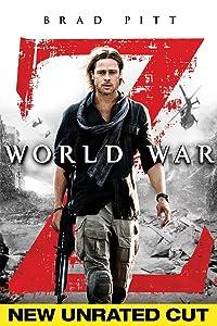 World War Unrated Brad Pitt product image