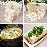Kenley Tofu Press Kit - Escurridor de queso de 4 prendas para ...