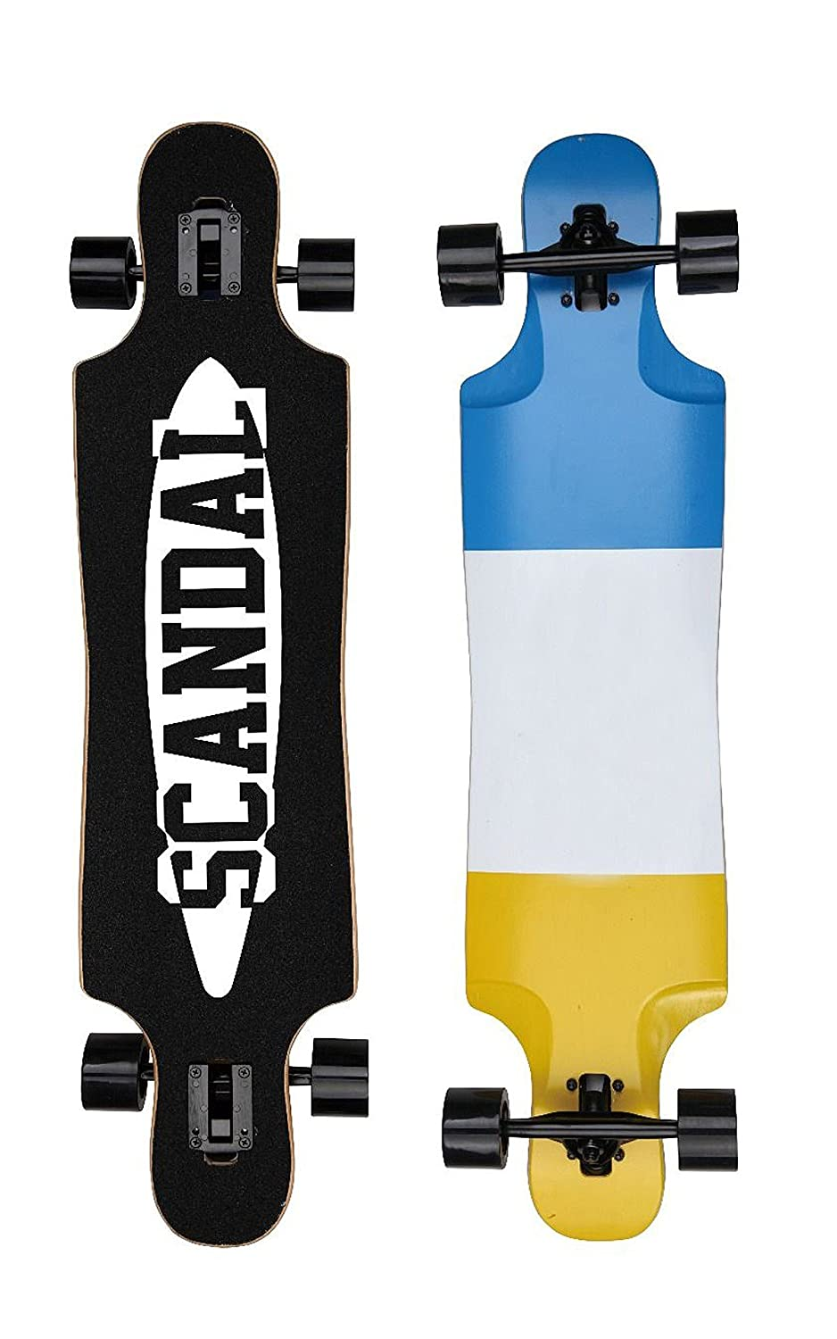 d8930d32d250d Scandal Longboard Cruiser ABEC 11 – High Speed 104 cm Érable canadien  Planche de couches