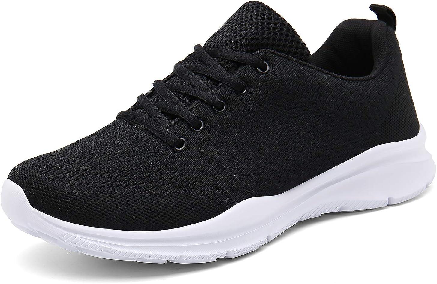 DAFENP Femme Baskets Mode Chaussure de Sport de Running Trail Gym entra/înement Fitness Course Sneakers Basses
