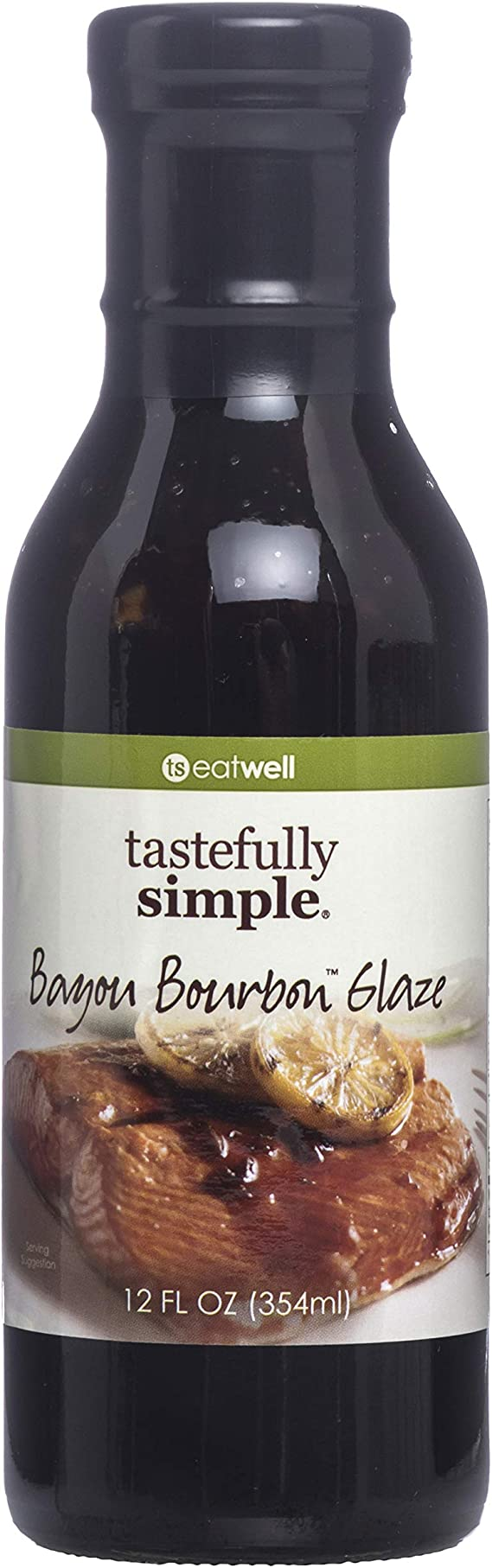 Tastefully Simple Bayou Bourbon Glaze - 12 Fl oz
