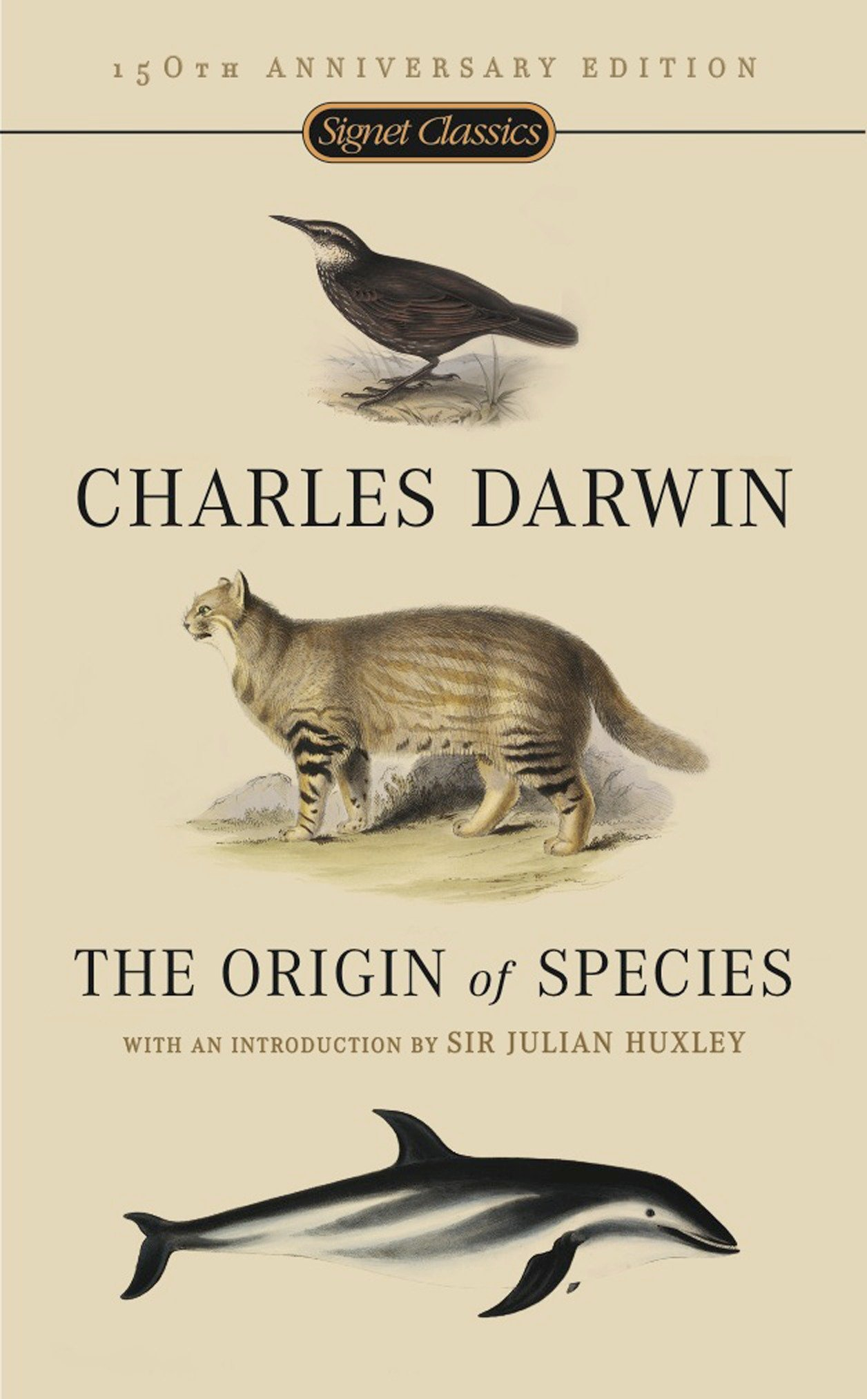 The Origin of Species: 150th Anniversary Edition: Charles Darwin, Julian  Huxley: 9780451529060: Amazon.com: Books