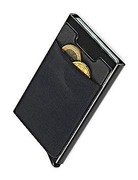 NeroAvorio Tarjetero Para Tarjetas de Crédito, Bloqueo RFID ...