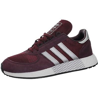zapatillas adidas hombres casual rojas