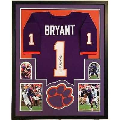 promo code 0be09 13fd4 Martavis Bryant Signed Custom Framed Clemson Tigers Orange ...