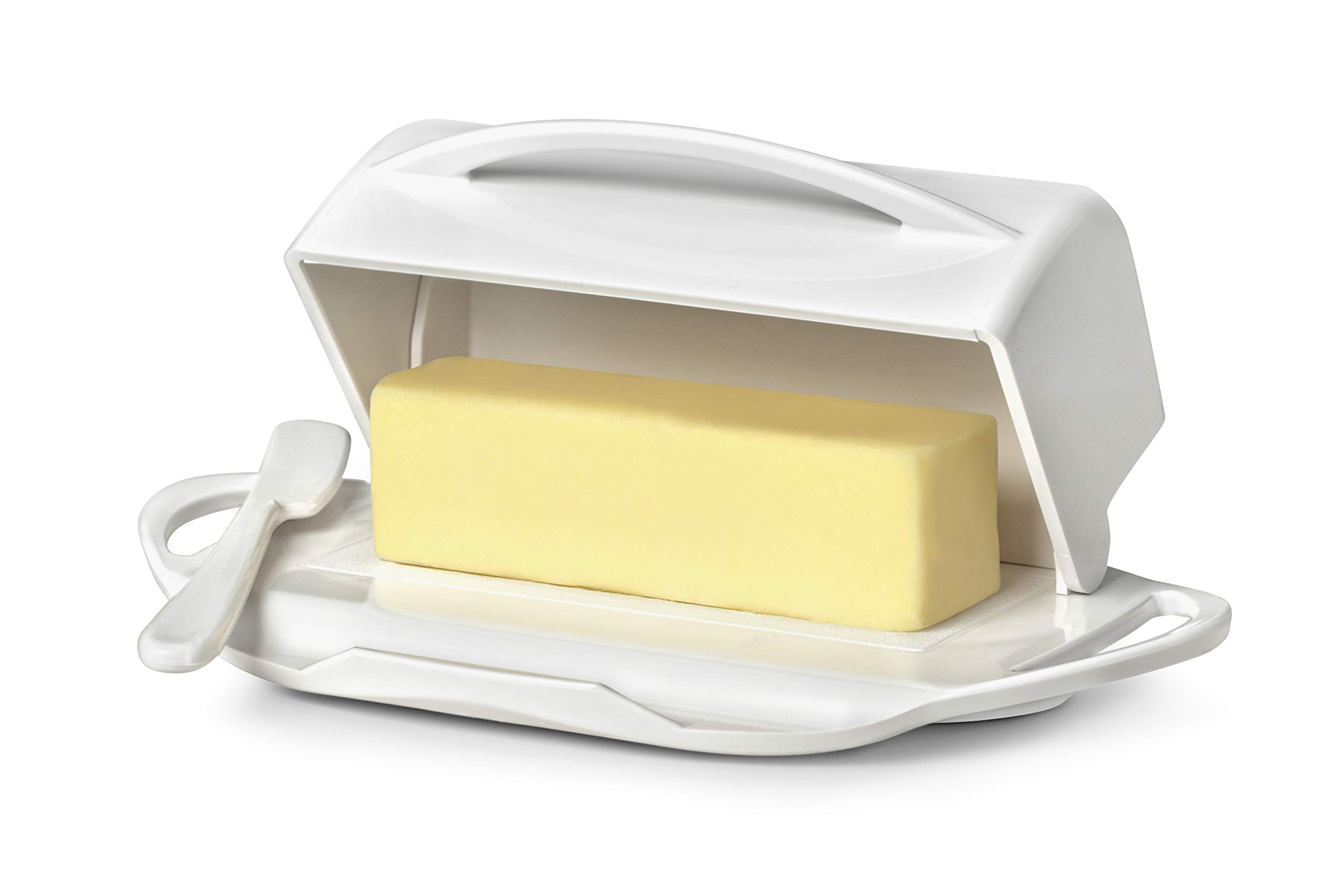 Butterie Flip-Top Butter Dish with Matching Spreader by Butterie (Image #2)