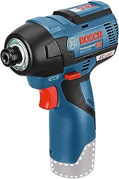 Bosch Professional GDR 12V-110 - Atornillador de impacto a batería (sin batería, 12V, 110 Nm, e...