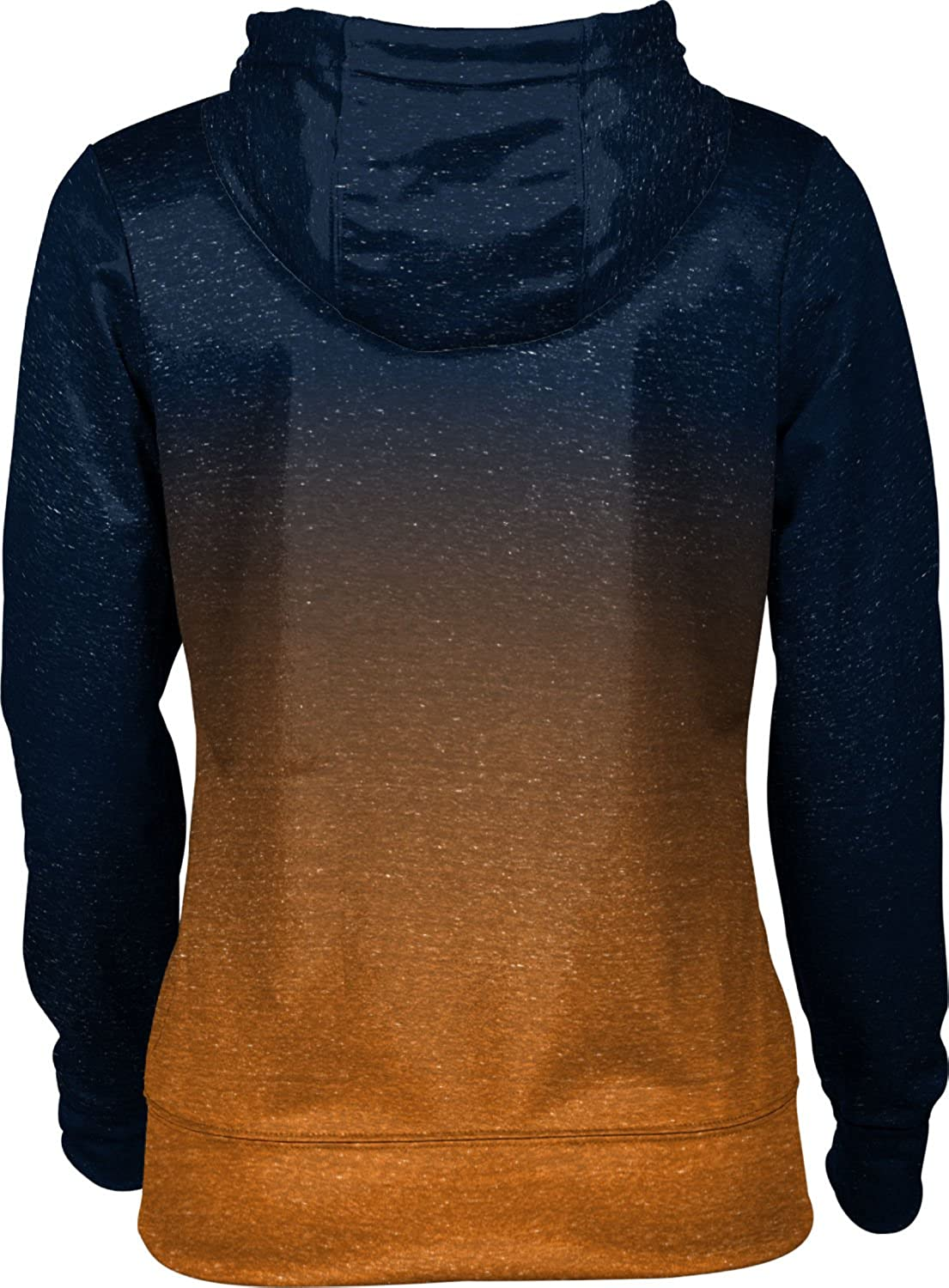 School Spirit Sweatshirt University of Tennessee at Martin Girls Zipper Hoodie Ombre