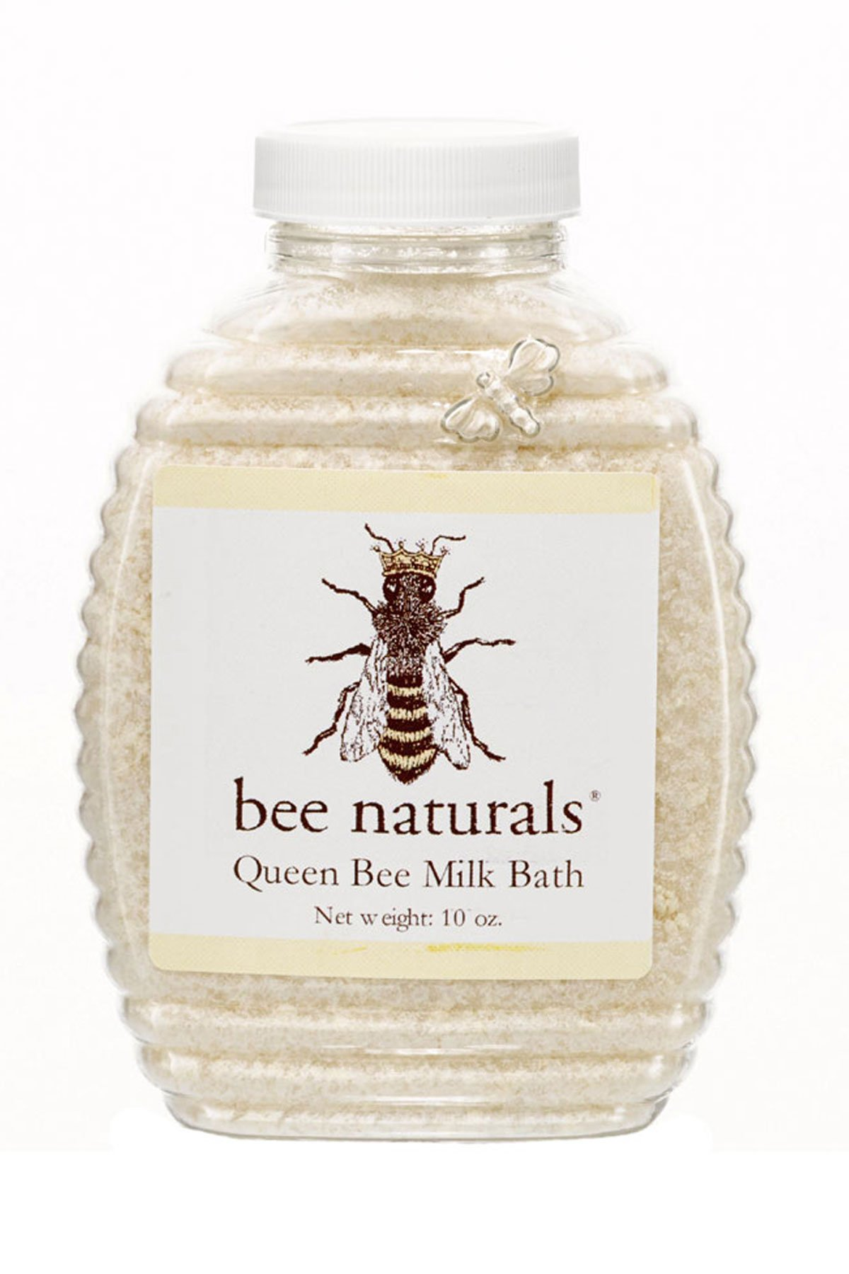 Bee Naturals Queen Bee Milk Bath - Soothe Skin with All Natural Ingredients - Gentle Enough for a Child - 10 Oz
