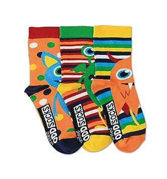 De La Marca United Oddsocks - 3 x Calcetines Desparejados Para Niño EU 26-30 (Friends): Amazon.es: Jardín