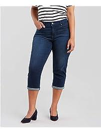 Levi's Womens Plus-Size Shaping Capris Jeans