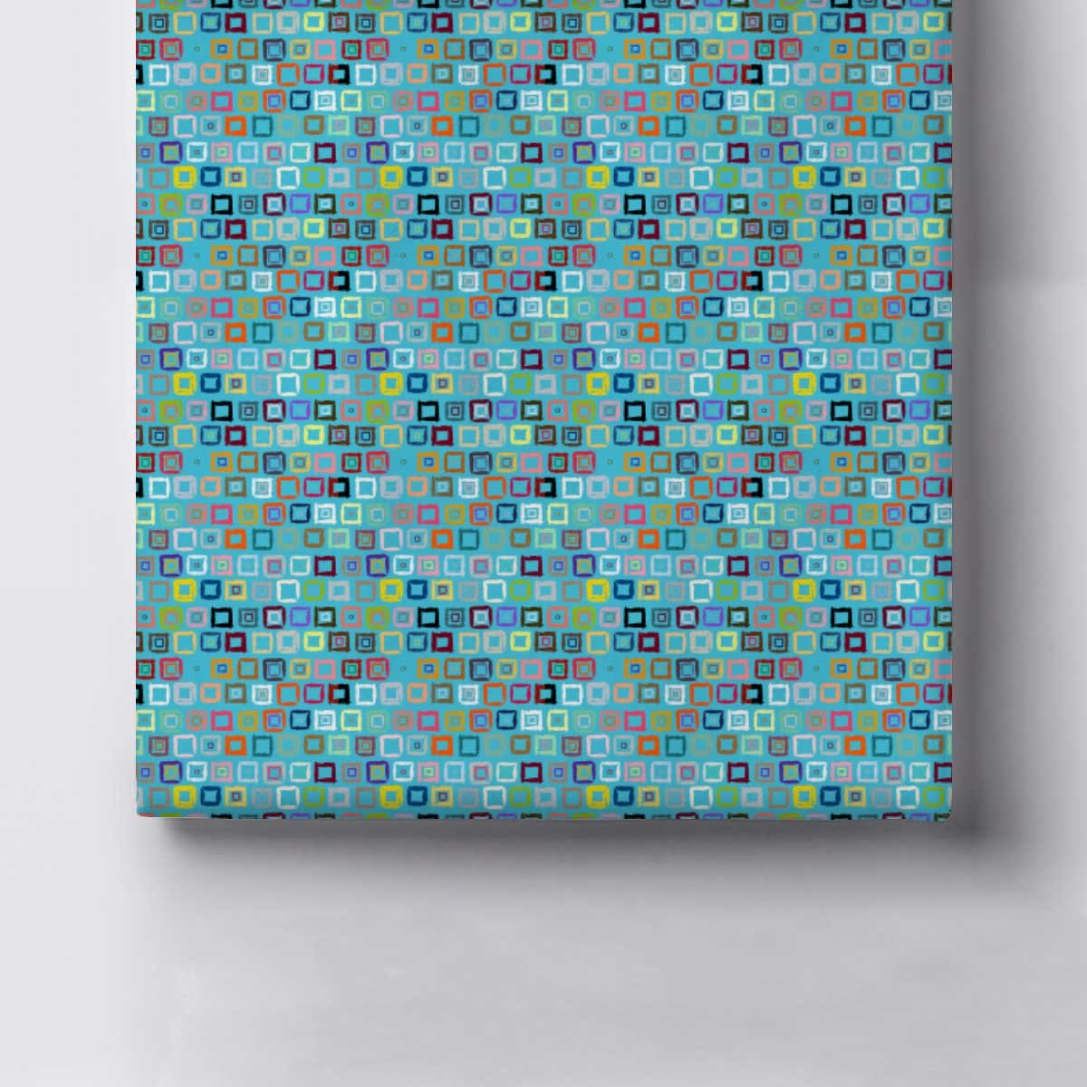 Amazon.com: artzfolio patrón geométrico tela de lona ...