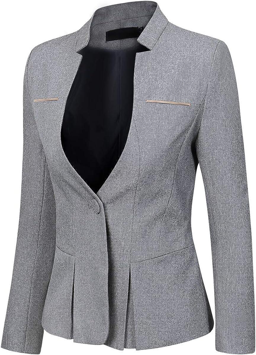 YYNUDA Business Outfit per Office Set Blazer da Donna con Gonna e Pantaloni Slim Fit Pantaloni Eleganti