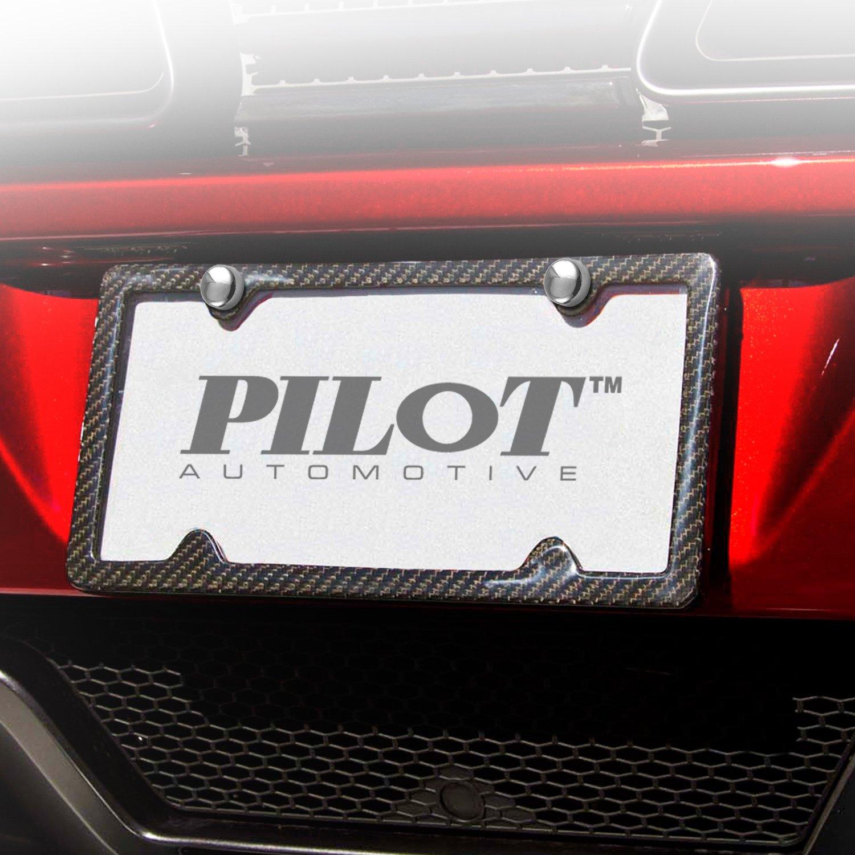 Anodized Aluminum Set of 2 Pilot Automotive Pilot WLA-015 Locking License Plate Fasteners