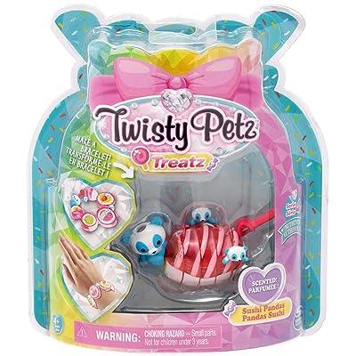 Twisty Petz Treatz - Sushi Pandas - Series 4: Toys & Games