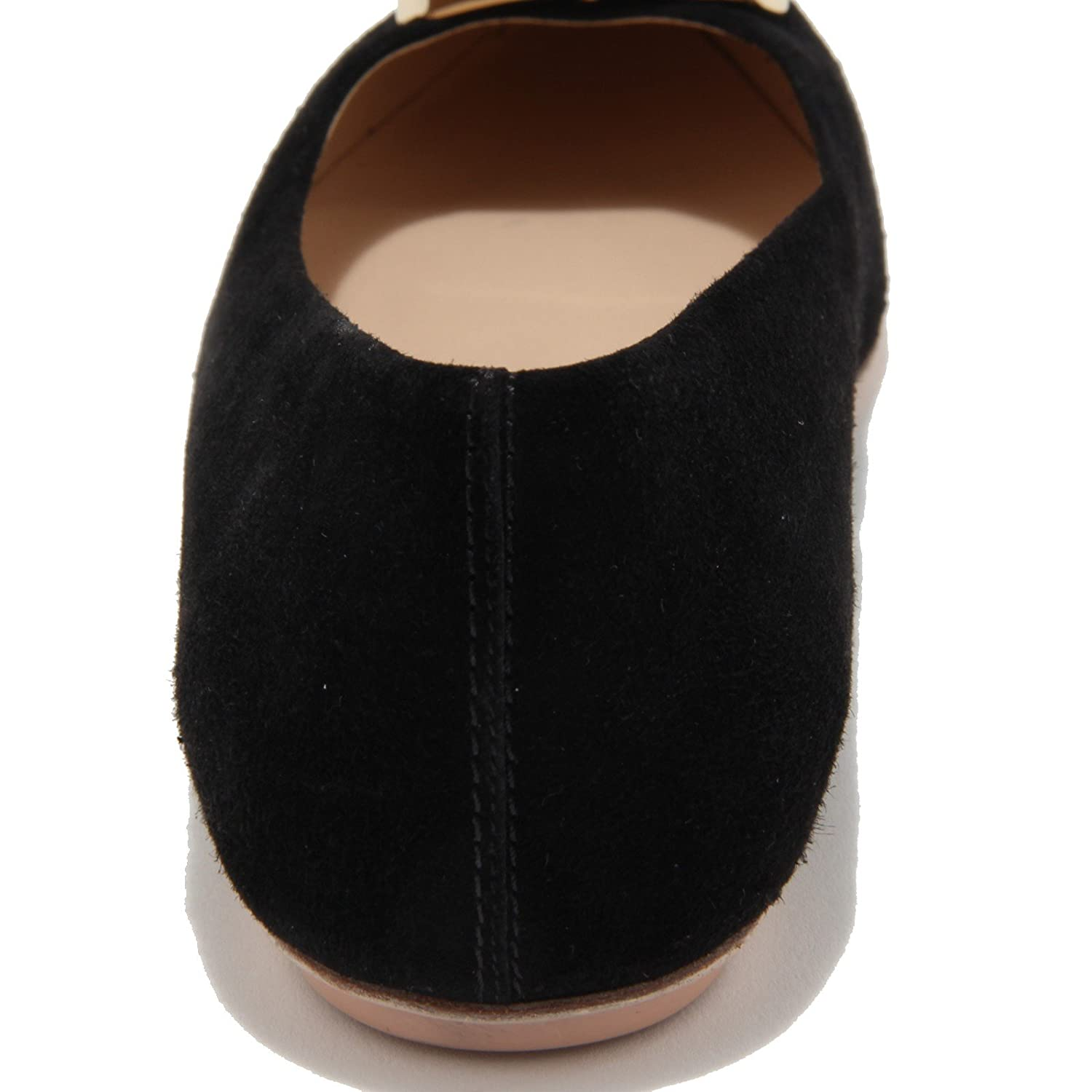 94173 ballerina TOD'S TOD'S TOD'S CUOIO SR PLACCA RIGING Negro Zapatos Mujer Zapatos Mujer 16f6ef