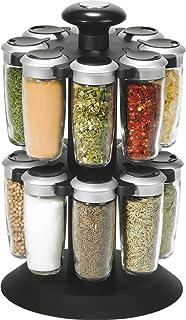 Premier Housewares Présentoir à épices à 2 étages avec 16 pots d ... b2b9b06c8798