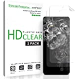 amFilm Galaxy S20 Ultra Screen Protector (2 Pack), Case Friendly (Fingerprint Scanner Compatible) HD Clear Elastic Skin…