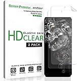 amFilm Galaxy S20 Ultra Screen Protector (2 Pack), Case Friendly (Fingerprint Scanner Compatible) HD Clear Elastic Skin TPU Film (Easy Installation) Screen Protector for Samsung Galaxy S20 Ultra