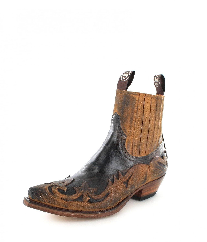 Sendra Boots 4660 - Botas De Vaquero de cuero hombre: Amazon.es: Zapatos y complementos
